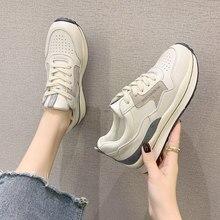 2021 super popular das senhoras sapatos vulcanizados tênis casuais das mulheres respirável correndo femmes chaussure aumentar zapatos de mujer