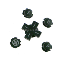 1set ABXY button Direction Cross On/off Buttons Black For 3DSXL 3DSLL 3DS LL XL A B X Y Buttons D pad Button