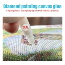 Strumento combinato accessori per pittura diamante rotondo quadrato appiccicoso fai da te trapano penna colla argilla scatola di immagazzinaggio sacchetto autosigillante carta per etichette