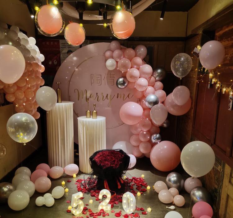 JAROWN Wedding Props Stage Multicolor Origami Round Pillar Three Piece Shopping Mall Decor Home Birthday Party Arrangement Decor (32)