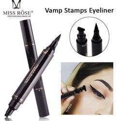 Горячая новинка, стойкий жидкий карандаш для глаз, водостойкий черный двухсторонний карандаш для макияжа