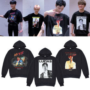 super m Kpop SuperM Hoodies Sweatshirt Jacket Casual Oversized Hoodie Plus Size 4XL Ten Mark Kai Merchandise(China)
