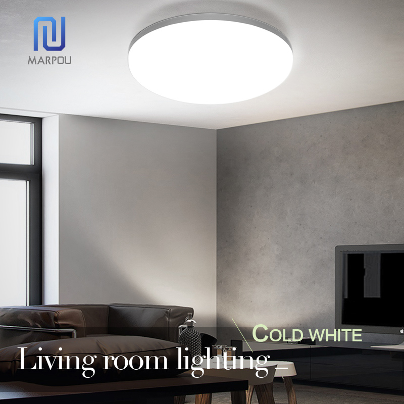LED Light Home Modern Panel Light Ceiling Lamp Natural Light Warm White Cold White Round Square Living Room Bedroom Kitchen 6