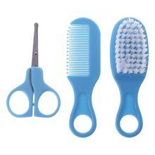 Scissors Comb Grooming-Brush Newborn Baby Kids Soft Nail-Cutter Bristle-Accessorie Children-Supplies