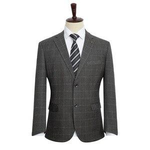 Image 2 - הגעה חדשה אופנה גברים אופנה חליפת מעיל סופר גדול גברים Loose פורמליות גבוהה באיכות בתוספת גודל XL 2XL3XL4XL 5XL 6XL 7XL 8XL 9XL