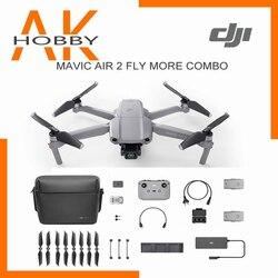 في المخزون DJI Mavic الهواء 2 /Mavic الهواء 2 يطير أكثر كومبو الطائرة بدون طيار مع 4k كاميرا 34-min وقت الطيران 10 كجم أحدث