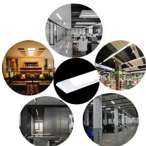 Image 5 - Tube déclairage intérieur, 10 pièces 5 pièces LED, 0.6, 0.9M 1.2M AC85 265V M LED, Purification, Bar anti poussière et anti brouillard