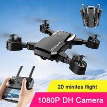 2,4G Beruf 1080P WIFI FPV Mini Drone Mit Weitwinkel HD Dual Kamera Hight Halten Modus RC Quadcopter hubschrauber 20 Minites Fly