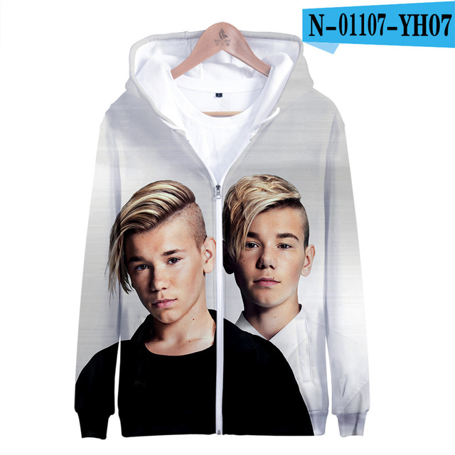 3 To 14 Years Kids Hoodie Marcus and Martinus 3D Hoodies Sweatshirt Boys Girls Fashion Harajuku Jacket Coat Children Clothes 10