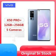 Oryginalny Vivo X50 Pro + X50 Pro Plus 5G Snapdragon do telefonu komórkowego 865 Android 10.0 6.56