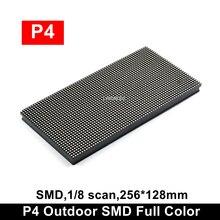 64x32 piksel RGB P4 LED modülü açık, p4 açık SMD tam renkli büyük reklam TV ekran modülü (P3.91 P5 P6 stok var)