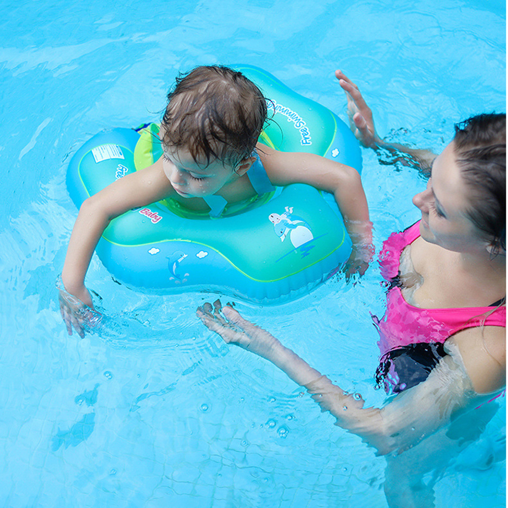 Swim Trainer Inflatable Circle Baby Accessories Eco friendly PVC Swimming Circle Baby Float Swim Pool Accessories Ring Float Toy in Swimming Rings from Sports Entertainment