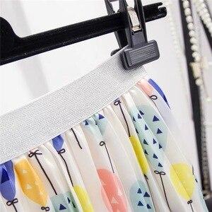 Image 4 - Marwin jupe plissée pour femmes ballon frais imprimé, nouvelle collection été 2019, jupe plissée pour femmes, ligne a, rue, Style européen, mi mollet