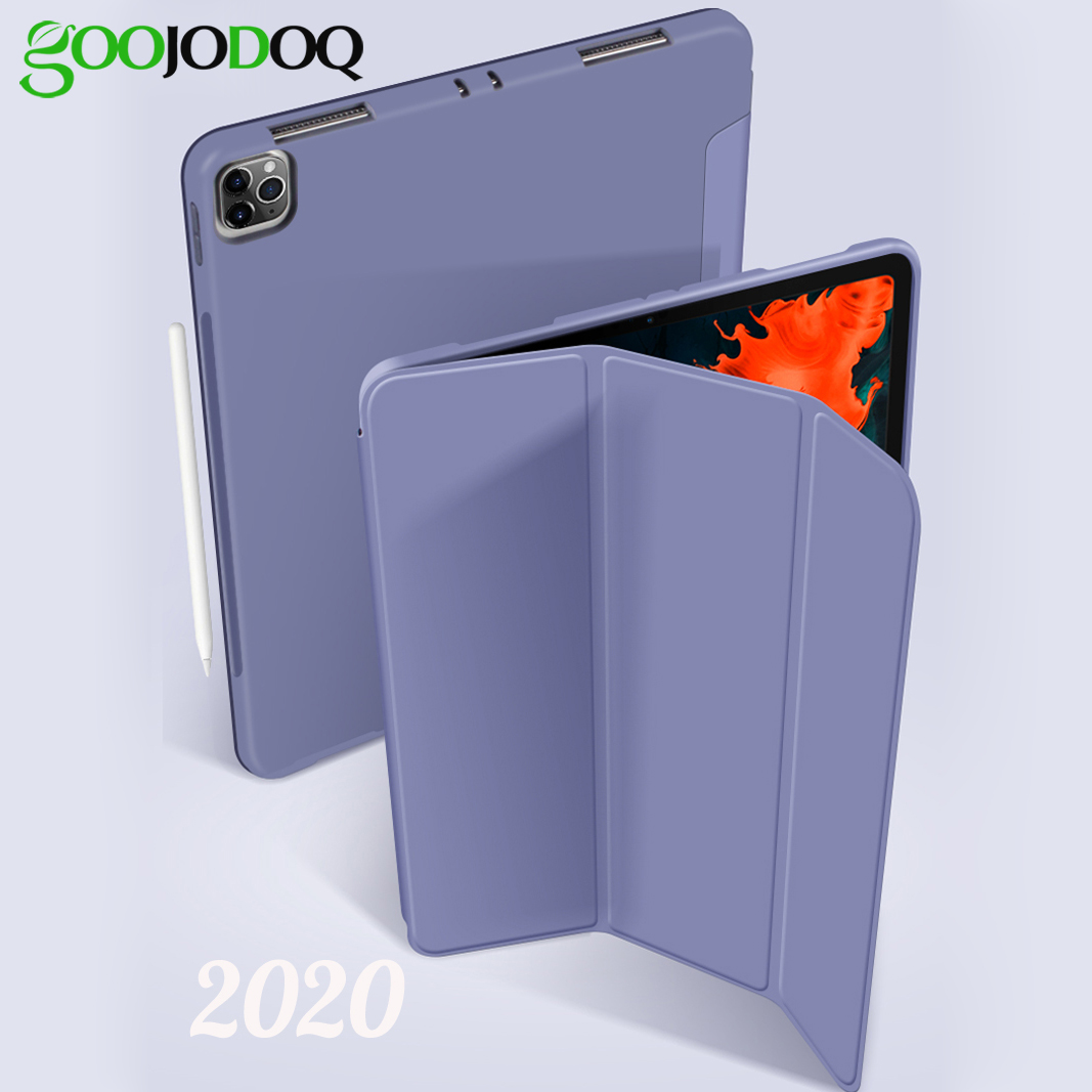 GOOJODOQ Case For IPad Pro 11-inch (2nd Generation) Pro 2020 Case Cover Support Wireless Charging 2020 New Auto Sleep/Wake Up