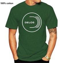 Westworld Delos Inc Logo Men's T-shirt T Shirt Discount 100 % Cotton T Shirt For Men's