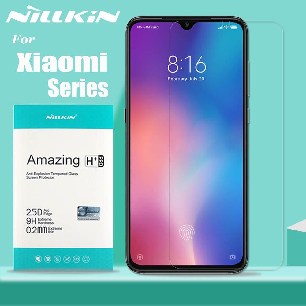 Nillkin für Xiao mi mi 9 8 SE 9T Pro 5G Glas Screen Protector 9H Sicherheit Gehärtetem glas für Xiao mi mi 9 mi 9T mi 9 Lite mi A3 A2 6