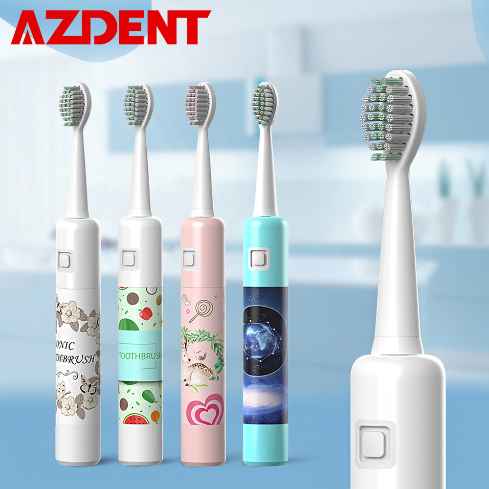 New 6 Modes Intelligent Sonic Electric Toothbrush USB Rechargeable With Replacement Head Tooth Teeth Brush Waterproof For Adults