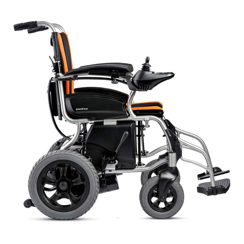 Fish Jump Fold Light Electric Wheelchair The Elderly Disabled Intelligence Fully Automatic Aged Function Four Round Walk Instead