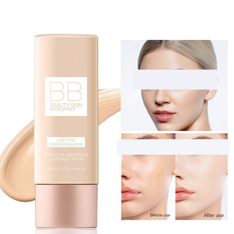 Makeup BB Cream White Cosmetics Natural Whitening Cream Waterproof Makeup Base Liquid Foundation Professional Cosmetics