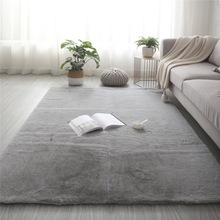 Washable Rugs Carpet Plush-Fluffy-Carpet Living-Room-Decor Faux-Rabbit-Fur-Rug Bedroom