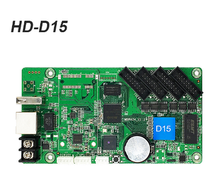 HUIDU D15 HD-D15 small led screen control card 4GB memory Huidu HUB75 data interface for bus AD controller