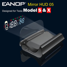 Alarm Head-Up-Display Tesla-Model Eanop Hud Speedometer Car-Accessories Projection