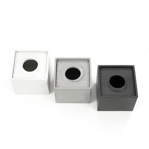 Image 5 - 시멘트 종이 수건 실리콘 금형 콘크리트 저장 상자 금형 크리 에이 티브 호텔 거실 펌프 상자 실리콘 금형