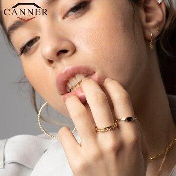 Женское кольцо из серебра 100% пробы, с геометрическим рисунком, алиэкспресс официальный каталог