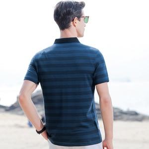 Image 2 - الصيف القطن قمصان قصيرة الأكمام الشباب عادية التلبيب الاتجاه فضفاض الرجال قميص بولو الرجال قميص بولو رقيقة
