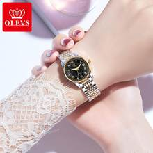 Watches for women automatic watch mechanical wach Couple ladies mens Luxury brand Stainless steel calendar waterproof diving(China)