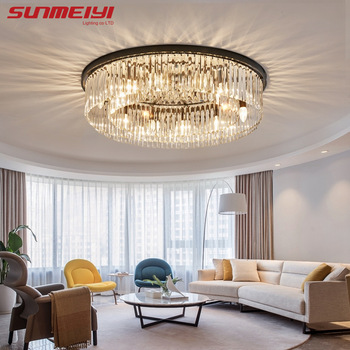 Modern Crystal Ceiling Lights Industrial Retro Home Lamp For Living room Kids Bedroom Dining Table LED Ceiling Light Rectangle ceiling light modern crystal led ceiling lights for the living room bedroom ceiling light led crystal chandelier modern home