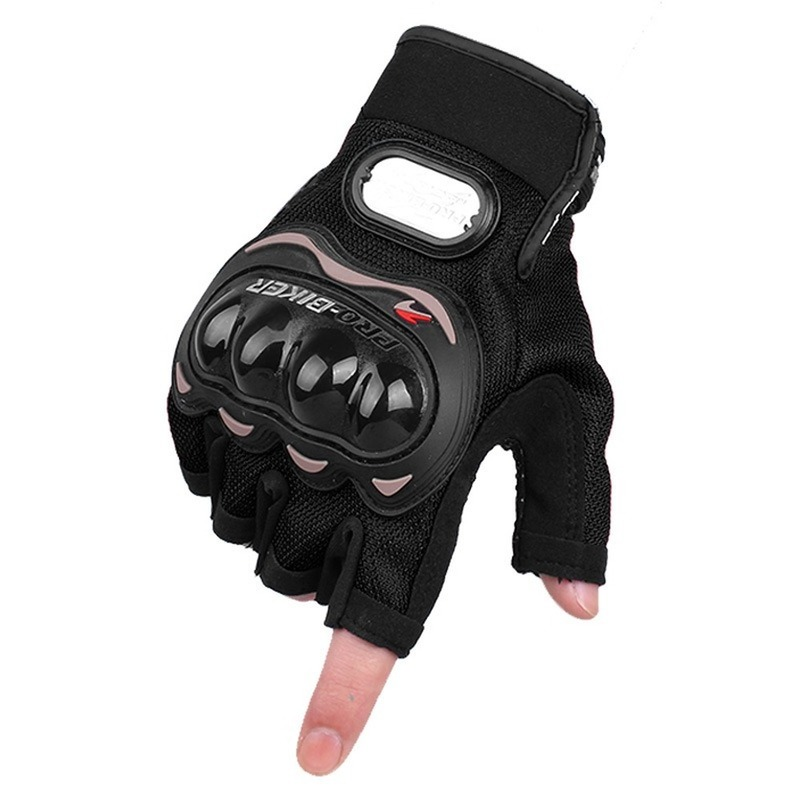 Half Finger Motorcycle Gloves Motorcross Racing Protective Offroad Riding Scooter Guantes Moto Gloves Motorcycle Accessories