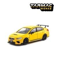 Tarmac Works 1:64 Subaru Impreza WRX STI S207 NBR Yellow Diecast Model Car