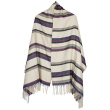 jzhifiyer YX154 220G 865*185+8*2cm Ladies Winter Tassel Long Scarf Striped Shawls Women