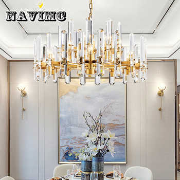 Postmodern Luxury Crystal Chandelier Living Room Restaurant Lighting Villa Atmosphere Creative Personality Lamp - Category 🛒 Lights & Lighting