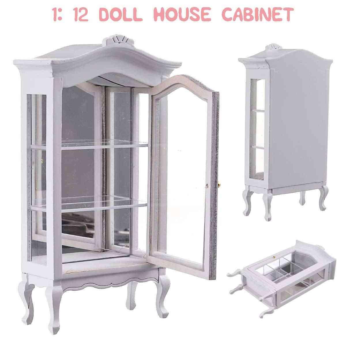 Miniature Dollhouse Doll House  3 wall display units 1:12