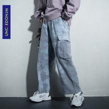 UNCLEDONJM Loose Jogger Wide Leg Pant Harajuku Streetwear Korean Punk Trouser Woman and Man Hip Hop Track Trousers AN-1937