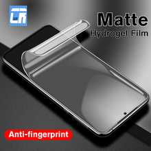No Fingerprint Matte Hydrogel Film for Xiaomi Redmi Note 8 7 7A K20 Pro 4 4x Screen Protector for Xiao A3 Lite Safety Film Case