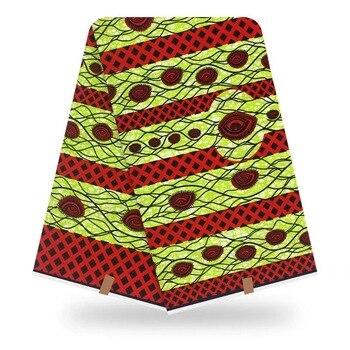 2019 High quality batik wax african prints in fabric dutch cotton 100% 6yards cottonV-L 741