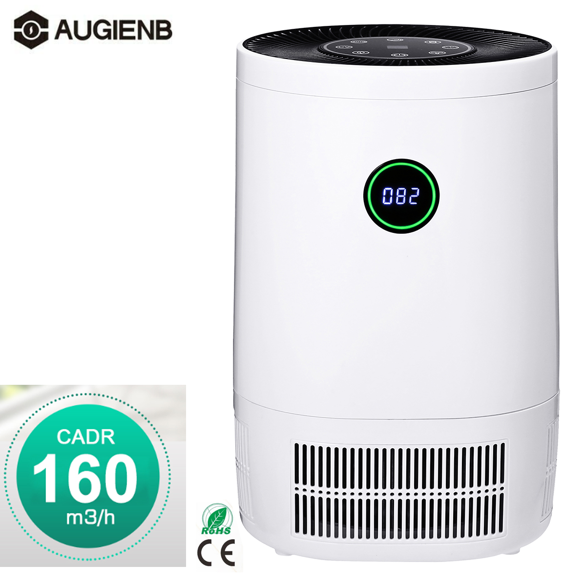 2019 Air Purifier For Home With True HEPA Filter Large Room Air Cleaner For Allergies And Pets Odor Eliminator For Smers