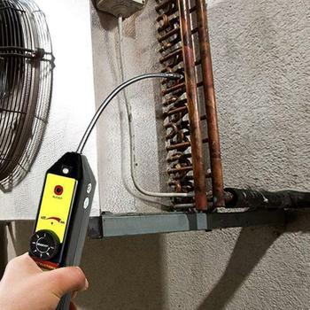 Useful Refrigerant Halogen Freon Leak Detector A/C R134 R410a R22 Air Gas HVAC Tool Black