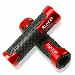 Image 2 - 7/8 22mm Motorcycle Accessorie Handvat Bar Handbar Stuur Anti Slip comfort grip Motobike Handvat bar Grips Voor BMW R1200R