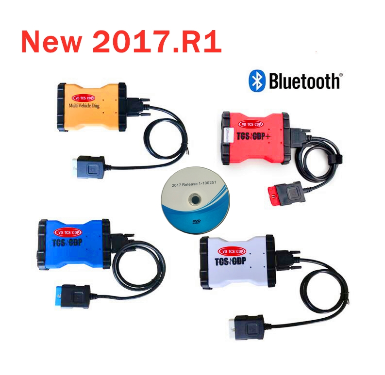 2020 Latest 2017 R1 free activate with bluetooth OBD Scanner for delphis Vdijk Autocoms pro obd2 cars trucks diagnostic tool