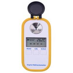 0-30% Brix de azúcar café medidor TDS 0-25% de concentración refractómetro electrónica, digital, portátil refractómetro