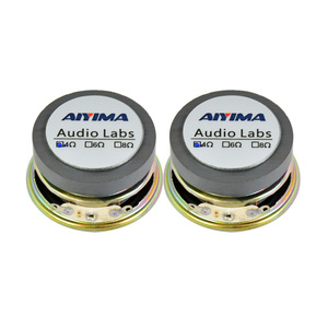 Image 5 - AIYIMA 2Pcs 1.5 Inch Full Frequency Sound Speaker 40MM 4 Ohm 3W Bluetooth Speaker PU Basin Loudspeaker For Audio Amplifier DIY