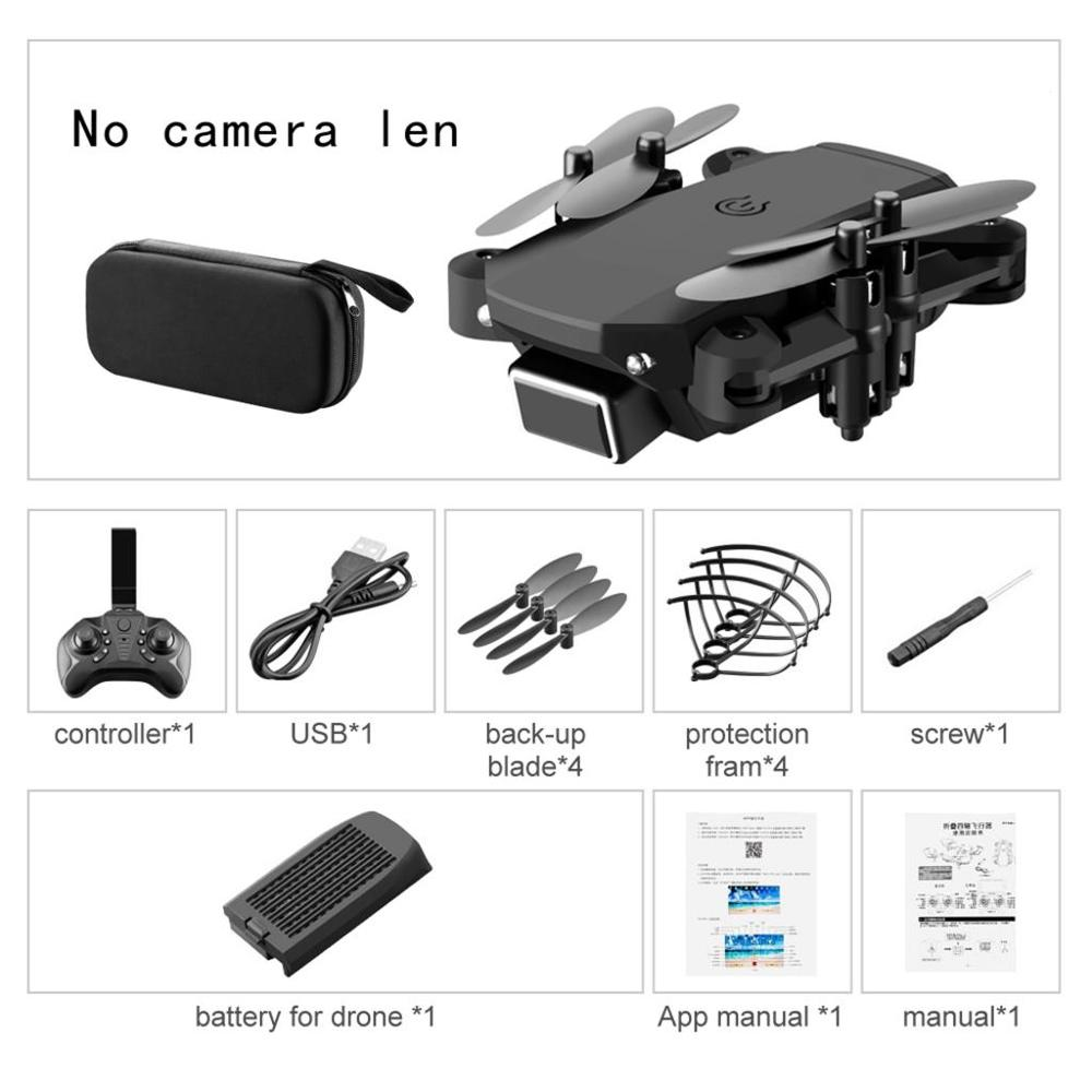 480P HD 2.4G RC Drone Remote Control Drones Kids Adult Toy Foldable Quadcopter Toys FPV Foldable Quadcopter with Battery