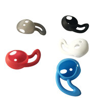 Earphone Earbud Silicone Case untuk Apple Air Polong Nirkabel Bluetooth Silicone Cover Fone De Ouvido Tips Topi untuk Airpods 2 Apple(China)