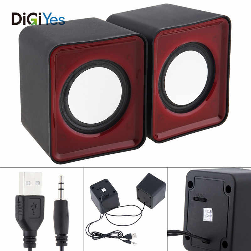 Mini Pc Combinatie Speaker G-101 5W Usb 2.0 Luidsprekers Met 3.5 Mm Stereo Jack En Usb Powered Voor Pc /Laptop/Smartphone Muziek