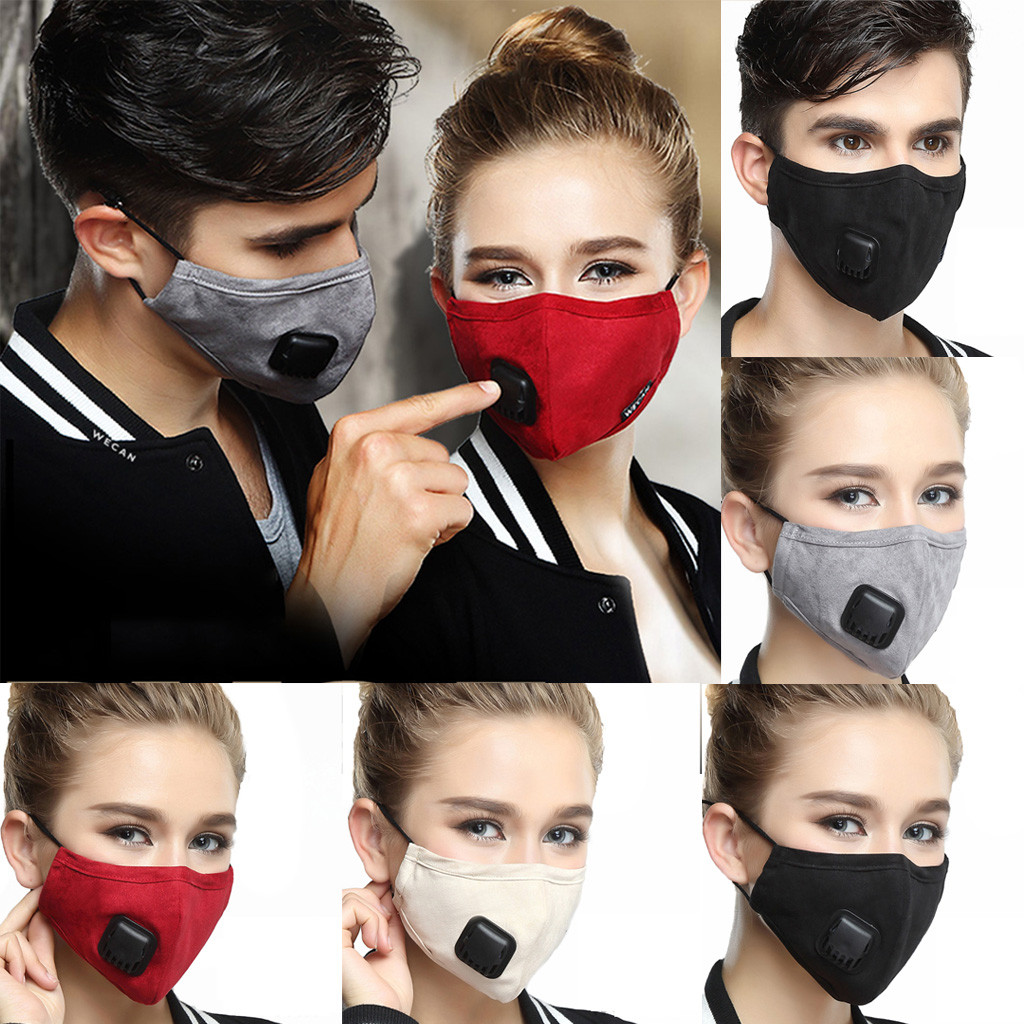 Fashion Reusable Masks Men Lady Anti Dust Muzzle Pm2.5 Antibacterial Outdoor Trip Protection Mouth Mask Sportswear Accessories