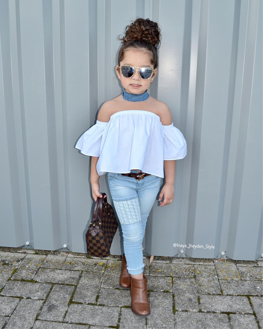 2pcs Fashion Girls Clothing Set 2019 Summer Baby Girls Clothes White Top Ruffles+Denim Floral LacePant Children Clothing Sets